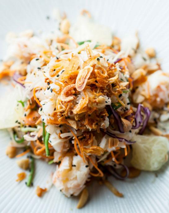 recipe crab pomelo salad