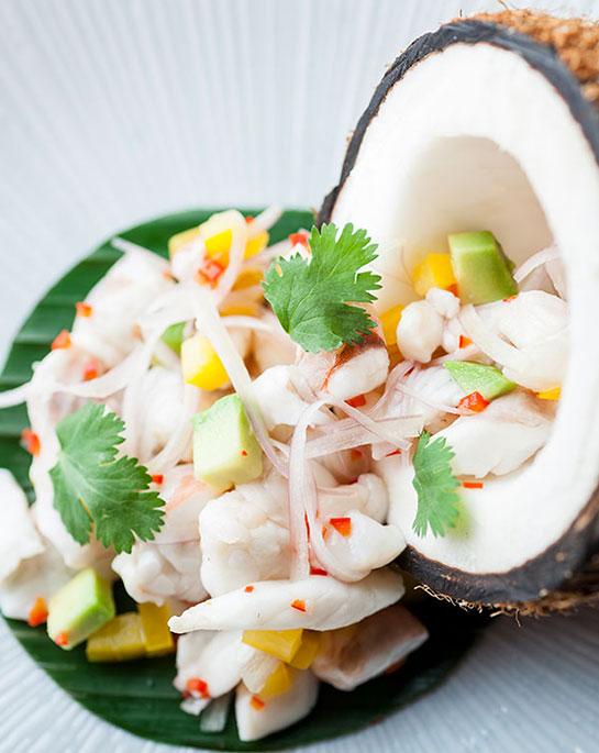 Recipe Truffle Seafood Ceviche